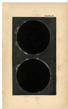 1876 eclipse sun & moon original rare antique celestial astronomy print. $30.00, via Etsy. Cosmos, Textures Patterns, Print Patterns, Ram Tattoo, Star Chart, Bookbinding, Rare Antique, Beautiful Tattoos, Night Skies