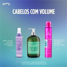 No Make It: Cabelos com volume
