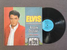 Kissin' Cousins (soundtrack) by Elvis Presley, 1964, LP