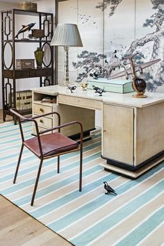 Retro Industrial Furniture For A Home Office