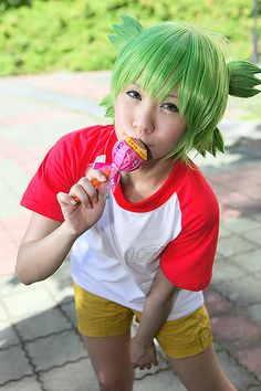 Yotsuba cosplay! For my lovely sister, Pudding