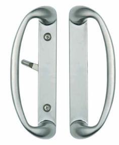 Sonoma Sliding Door Handle Set In Brushed Nickel