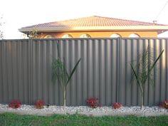 Grey Ridge Colorbond fence