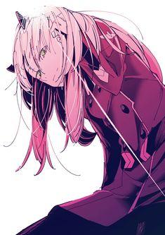 Darling in the franxx All Anime, Anime Manga, Anime Art, Anime Stuff, Cotton Candy Sky, Waifu Material, Fanart, Zero Two, Ecchi