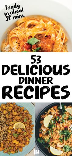 Quick dinner recipes | Easy meal ideas | dinner ideas for a family or dinner ideas for two