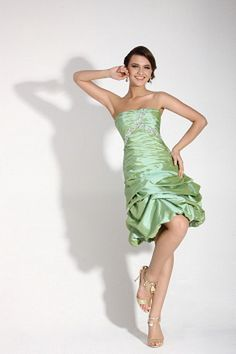 Bright Green Cocktail Dresses