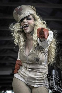 Epic Firetruck's Maria Brink & In This Moment ~ Lou Brutus Photography ~