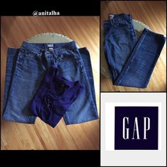 "♦️Sale♦️Gap Slim Boyfriend Jeans ⬇️♦️Sale♦️ Comfy & cute with slight destruction for the ""worn"" look. Size 26R GAP Jeans Boyfriend"