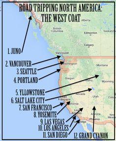 North America:: West Coast Road Trip // heartofthenomad.com