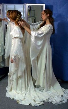 Celtic wedding gowns- I would love for my daughter to get married in a gown like this.