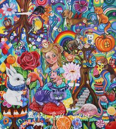 Wonder World fine art print by Frecklepop on Etsy