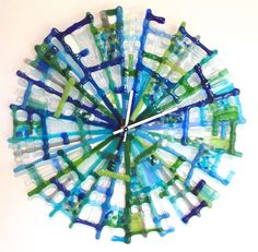 Spira reloj. Fused Glass for Laura to see.