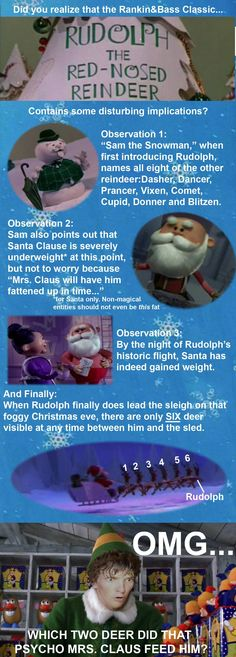 *This will ruin your Childhood Xmas Memories. - Imgur