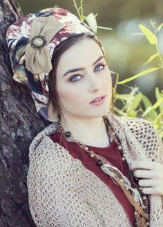 pre-sewn head covering #tichel #headcovering #hijab #headscarf
