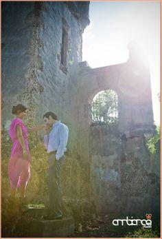 Engagement shoot at castle #sunglare