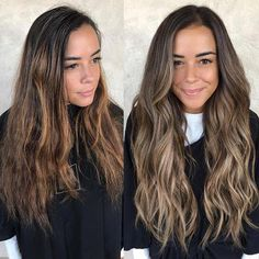 Balayage Blonde Ends - 20 Fabulous Brown Hair with Blonde Highlights Looks to Love - The Trending Hairstyle Brown Ombre Hair, Brown Hair Balayage, Brown Hair With Highlights, Brown Blonde Hair, Light Brown Hair, Brown Hair Colors, Brunette Hair, Baylage Brunette, Dark Brown