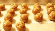 пошаговый фото-рецепт и видео рецепт Заварные пирожные Профитроли