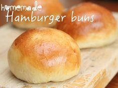 I was so impressed with this hamburger bun recipe!  It was simple and they were soooo much better than store-bought! @allrecipes