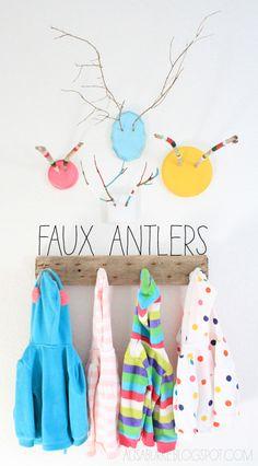 Diy Faux antlers