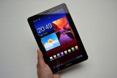 Samsung Galaxy Tab 7.7 é a mistura ideal de tamanho e processamento