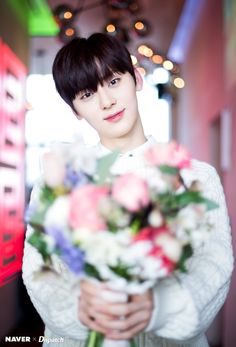 Wanna One Minhyun Naver Photoshoot for White Day