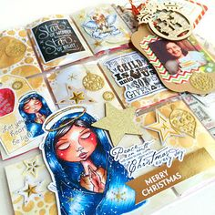 Cre8tive Cre8tions by Andrea Gomoll | Pocketletter Update: incoming and outgoing Pocketletters / Christmas Pocketletters | http://andrea-gomoll.de