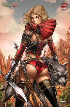 ☆ Grimm Fairy Tales: Robyn Hood vs Red Ridding Hood :: Zenescope Entertainment ☆