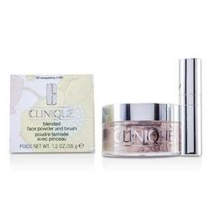 Blended Face Powder + Brush - No. 02 Transparency; Premium price due to scarcity - 35g-1.2oz