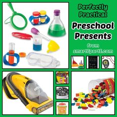 Shopping for a homeschooled preschool this holiday season? Check out our favorite set of practical preschool presents.