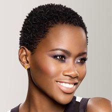 TWA Natural Hair | comb coils on TWA