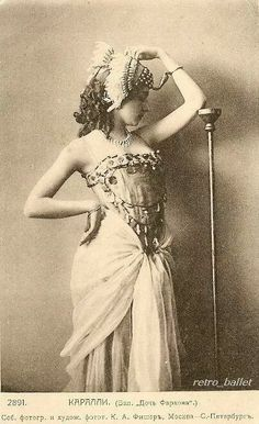 Vera Alexeyevna Karalli was a notable Russian ballet dancer, choreographer and silent film actress during the early years of the 20th century