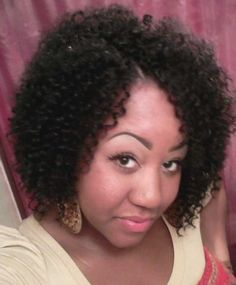 Another look at those crochet braids using Freetress Water Wave