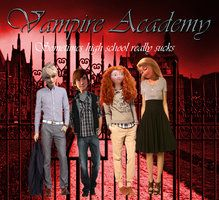 Big 4: Vampire Academy AU by returntowonderland