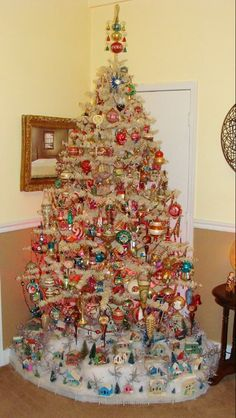 Old school ornaments