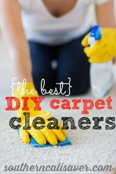 http://amzn.to/2fjw8vg DIY Carpet Cleaning Recipes
