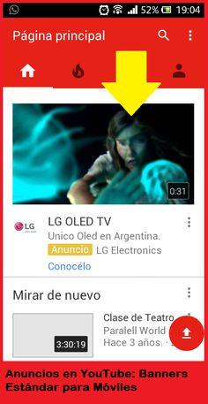 Publicidad en YouTube para ordenadores y móviles