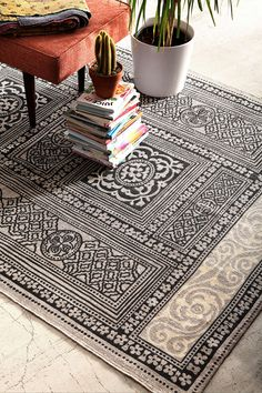 magical thinking adalaj printed rug