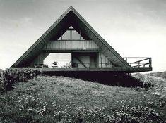 Ole Hagen, own summerhouse (1955). Hald Strand DK