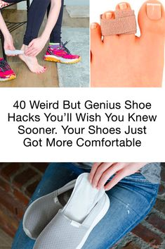 40 Weird But Genius Shoe Hacks You'll Wish You Knew Sooner. Your Shoes Just Got More Comfortable 40 Weird But Genius Shoe Hacks You'll Wish You Knew Sooner. Your Shoes Just Got More Comfortable,Life. Simple Life Hacks, Useful Life Hacks, Home Remedies, Natural Remedies, Healthier Together, Clothing Hacks, Worth Clothing, Beauty Hacks, Diy Beauty
