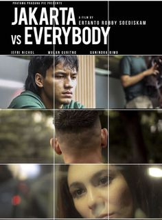 Jakarta Vs Everybody Poster Film Film Poster