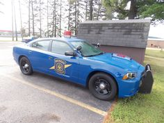 Michigan State Police Patrol Cars | Michigan State Police Dodge Charger.