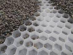 Image result for gravel drive with granite sett edging