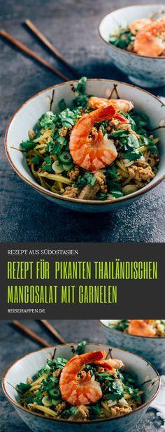 Grüner Mangosalat aus Thailand