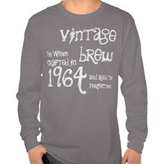 =>>Cheap          50th Birthday Gift 1964 Vintage Brew Gray G216N Tshirt           50th Birthday Gift 1964 Vintage Brew Gray G216N Tshirt This site is will advise you where to buyDeals          50th Birthday Gift 1964 Vintage Brew Gray G216N Tshirt please follow the link to see fully review...Cleck See More >>> http://www.zazzle.com/50th_birthday_gift_1964_vintage_brew_gray_g216n_tshirt-235149659429408467?rf=238627982471231924&zbar=1&tc=terrest