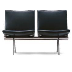 Wegner sofa - CH402 - 2-personers sofa - Carl Hansen & Søn - Carl Hansen & Søn