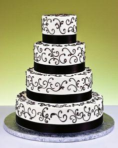 Торт свадебный шикарный