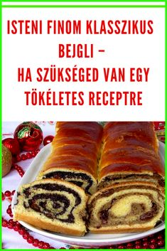Czech Recipes, Christmas Sweets, Homemade Cookies, Croissant, Hot Dog Buns, Cake Recipes, Bakery, Food And Drink, Bread