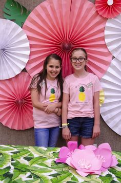 Activity Days Camp Ideas and inspiration by Lindi Haws of Love The Day. Theme (Be A Pineapple), schedules and favor ideas. Activity Day Girls, Activity Days, Church Activities, Activities For Kids, Diy For Kids, Crafts For Kids, Day Camp, Photo Booth Backdrop, Girl Decor