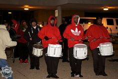 Pontiac Drum Corp @ the Pontiac Tree Lighting  photo credit: Detroit Metro Mashup