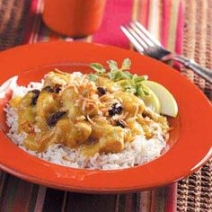 Slow Cooker Curried Pork